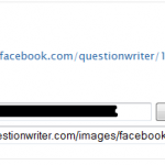 Settings for Facebook in Question Writer Tracker