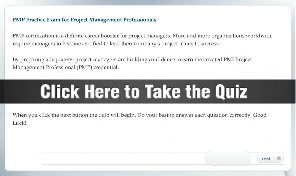 Pmp Practice Exam Prepare To Become Recognized As A True Project