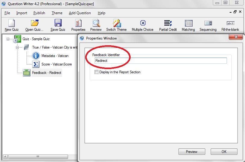 Step 7: Feedback Identifier