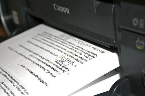 print quiz