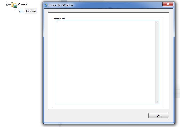 Javascript Content