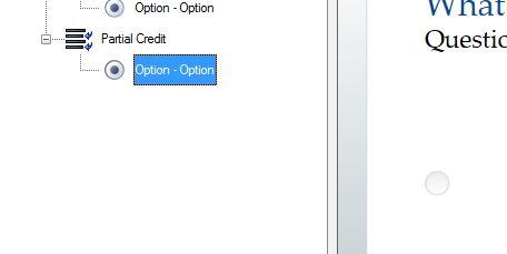 Add answer option