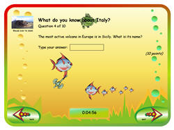 Aquarium Quiz Templates