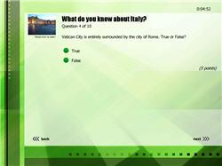 Film Verde Flash Quiz Template