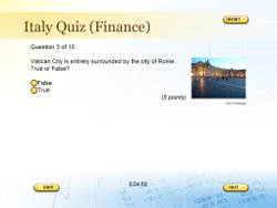 Finance Quiz Template  Free Quiz Template
