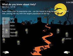 Halloween Flash Quiz Template