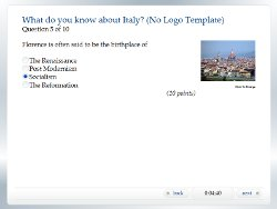 HTML5 Quiz Template  Free Quiz Template