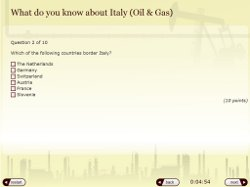 Oil and Gas Quiz Template